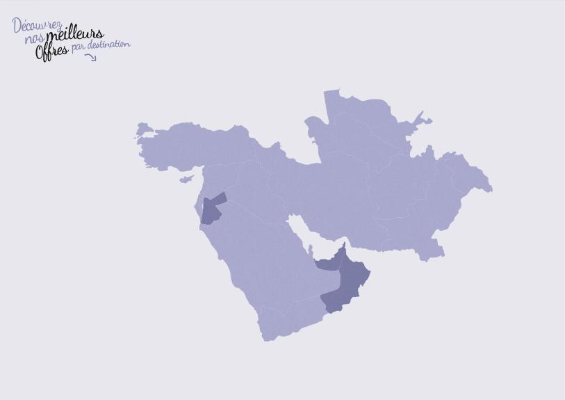 Carte Moyent-Orient