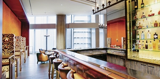 Bar hôtel Mandarin Oriental New York
