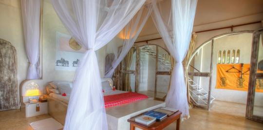Chambre hôtel Msambweni Beach House