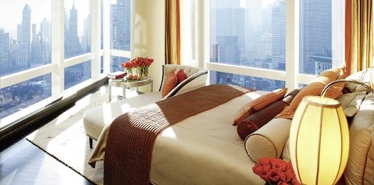Lit hôtel Mandarin Oriental New York