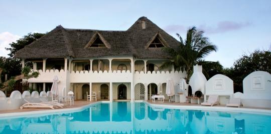 Piscine hôtel Msambweni Beach House