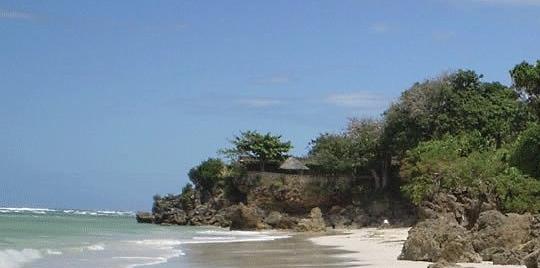Plage hôtel Msambweni Beach House