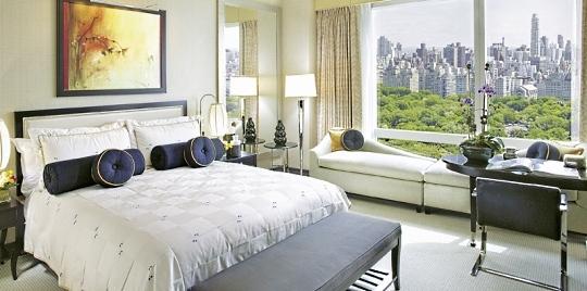 Chambre hôtel Mandarin Oriental New York