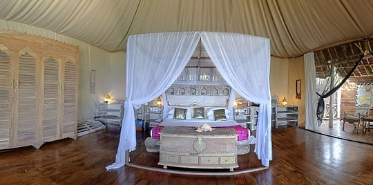 Suite hôtel Msambweni Beach House