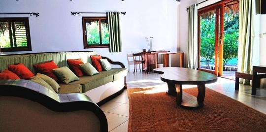 Chambre hôtel Ravintsara Wellness & Spa Madagascar