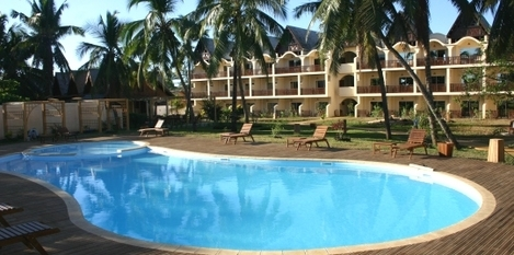 Piscine hôtel Ravintsara Wellness & Spa Madagascar