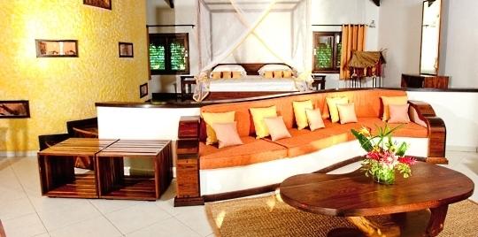 Salon hôtel Ravintsara Wellness & Spa Madagascar