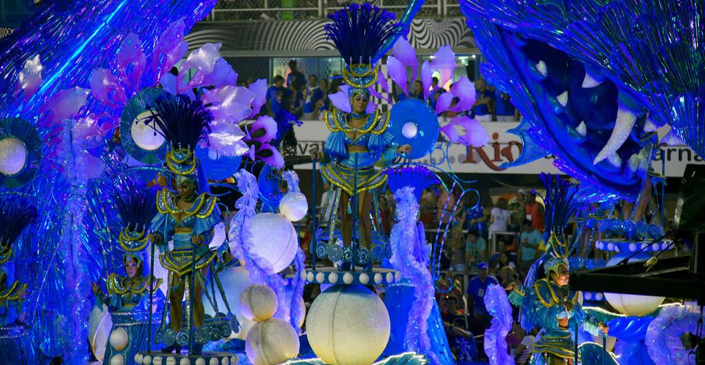 Carnaval de Rio au Brésil