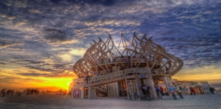 Festival Burning Man aux USA